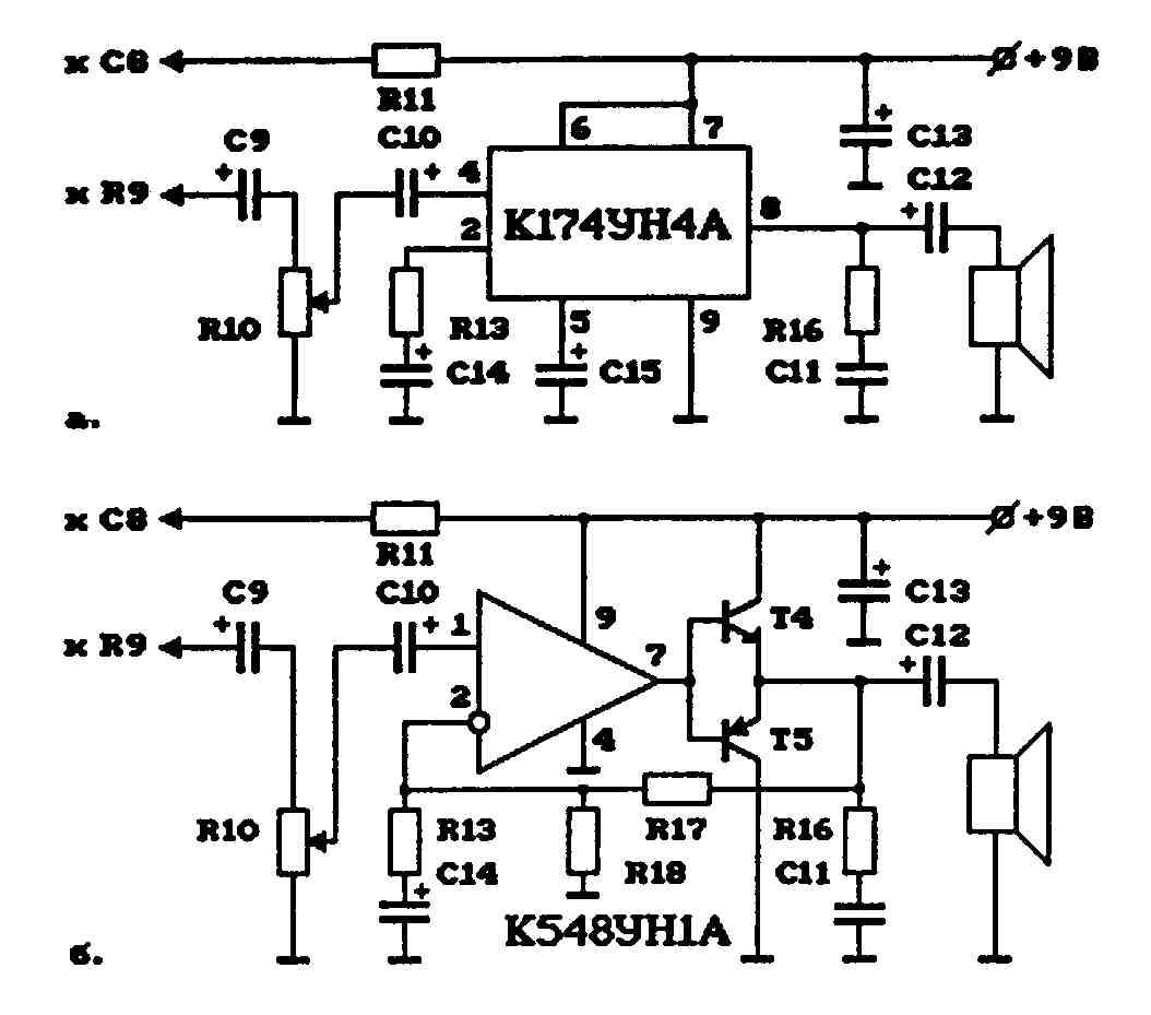 укв приемник на транзисторах схема