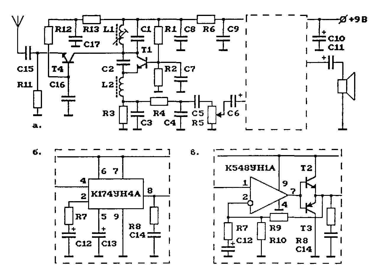 схема супергетеродин прымого преобразования