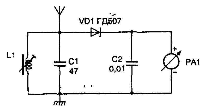 Рис. 5.17 Простейший индикатор
